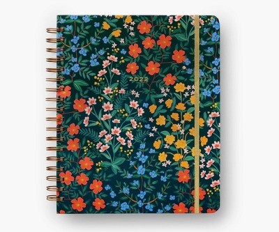 2022 Wildwood 17 Month Hard Cover Spiral Planner