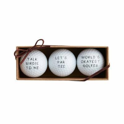 Let's Par Tee Golf Ball Set