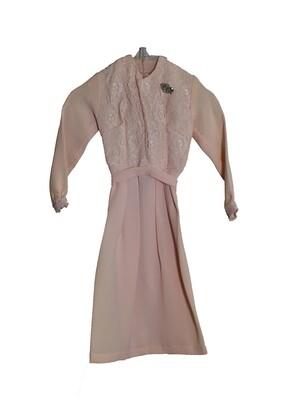 Paramount Salesman Sample Burial Dress c.1960s