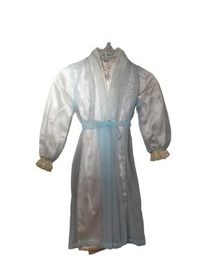Paramount Salesman Sample Burial Dress c.1960s - Sheer Blue
