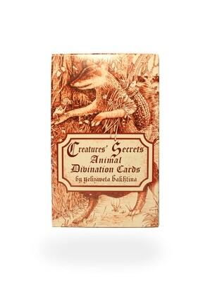 Creatures' Secrets Divination Cards