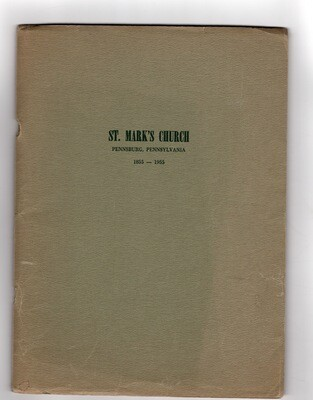 St. Mark's Church Centennial 1855-1955