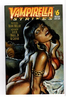 1996 Vampirella Preview Strikes