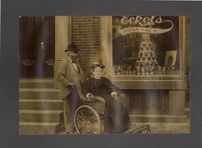 Eckel's Pharmacy  - Large Wheelchair Cabinet Photo