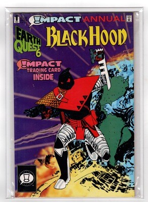 Black Hood #1 Annual Earthquest 1992