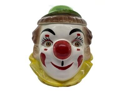 PY Japan Vintage Clown Cookie Jar