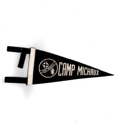 1950s Camp Michaux Small Pennant