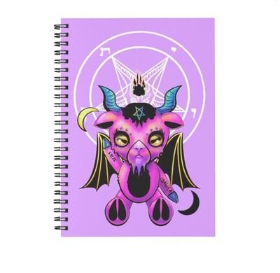 Bubblegum Baph Spiral Notebook