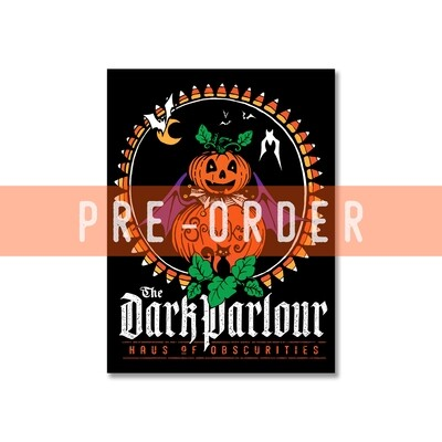 PRE-ORDER Spooky Pumpkin 3 x 4