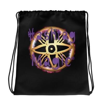 Hashtag Magic Drawstring bag