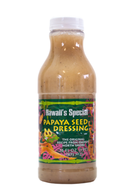 Original Papaya Seed Dressing, 16 oz