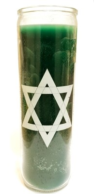 7 Day Candle- Psalm (Green)