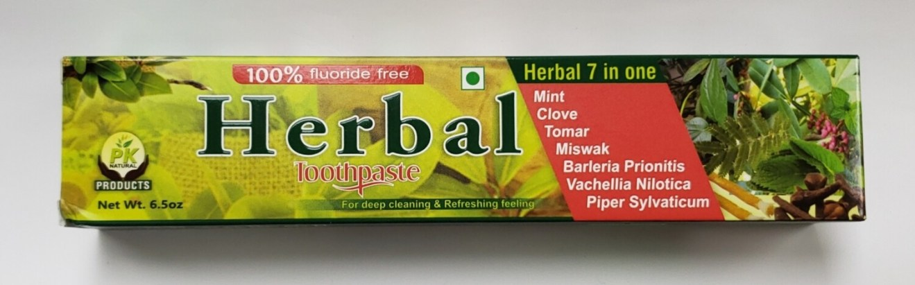 Pk Naturals Herbal Toothpaste