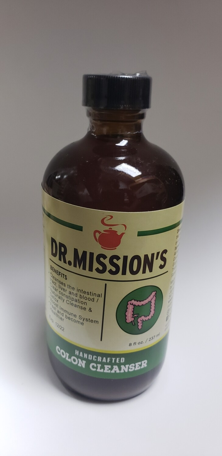 Dr. Mission's Handcrafted Colon Cleanser 8oz