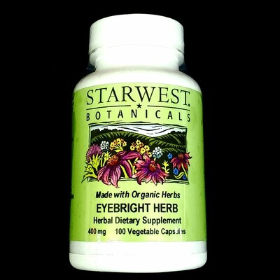Starwest Botanicals Eyebright Herb