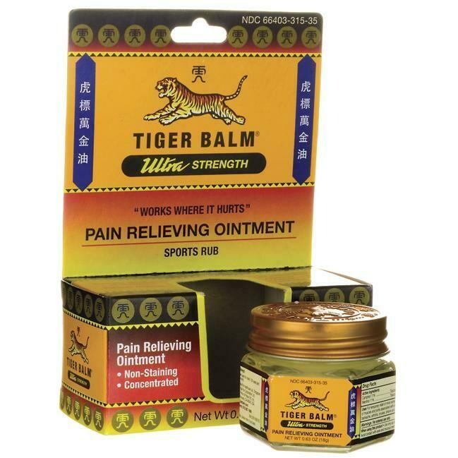 Tiger Balm Ultra Strength