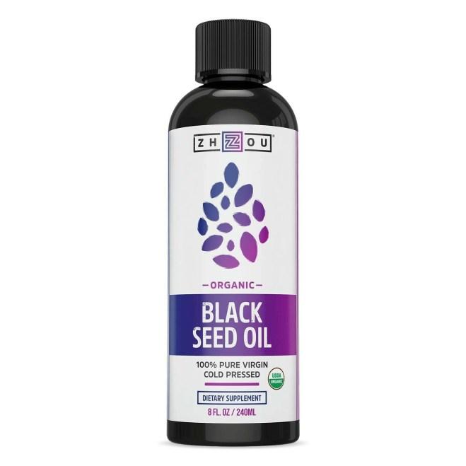 ZHOU: Organic Black Seed Oil 8oz
