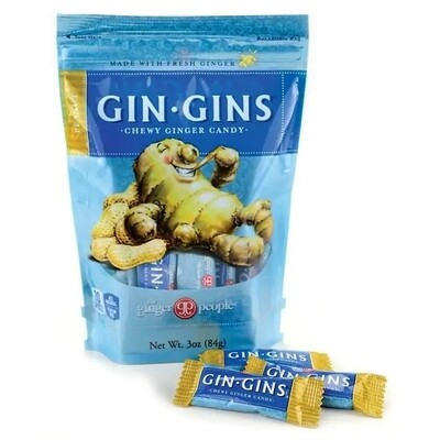Gin Gins: Peanut Ginger Chew Candy