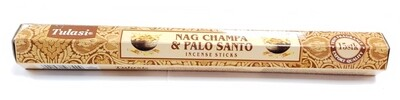 Tulasi: Nagchampa & Palo Santo Stick Incense (1 Unit 15 Sticks)