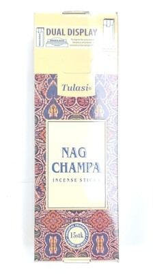 Tulasi: Nagchampa Stick Incense Box (6 Unit 15 Sticks each)
