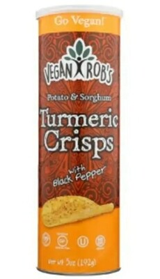 Vegan Rob Turmeric Crisp 5oz
