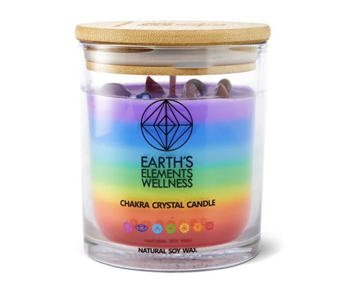 Crystal Chakra Candle