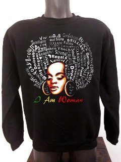 I Am Woman Ladies Sweater