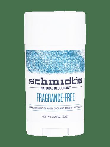 Schmidt's Fragrance-Free Sensitive Skin Formula Natural Deodorant 3.25 oz