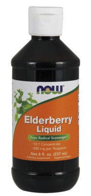 Elderberry Liquid Free Radical Scavenger* 8oz