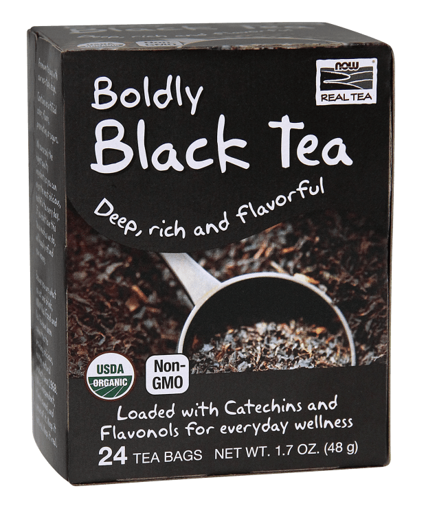 Now Real Tea- Organic Black Tea 1.7oz