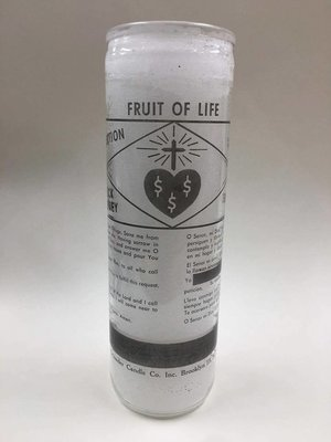 Fruit Of Life Candle