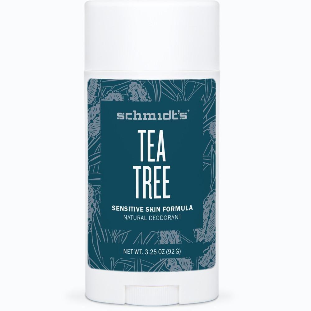 Schmidt's Tea Tree Sensitive Skin Formula Natural Deodorant 3.25 oz