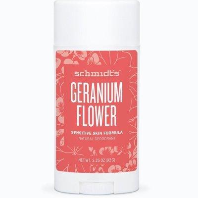 Schmidt's Geranium Sensitive Skin Formula Natural Deodrant 3.25 oz