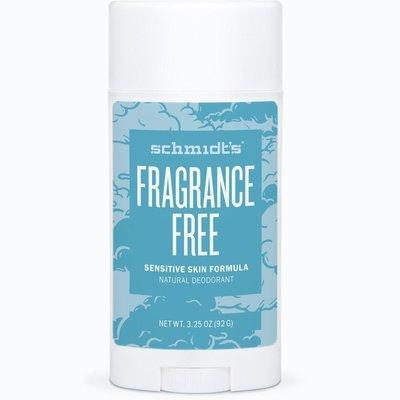 Schmidt's Frangrance Free Natural Deodorant Stick 3.25 oz