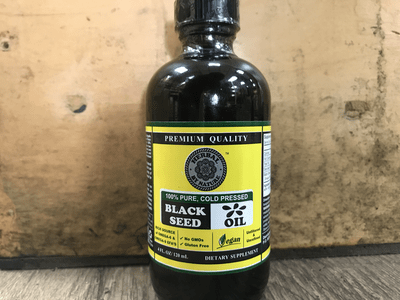 Black Seed Oil 100% cold pressed 4FL.0Z
