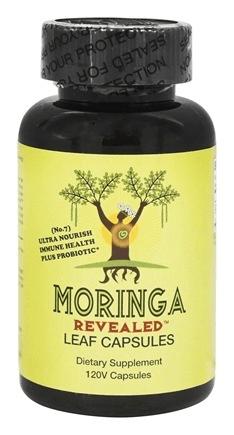Moringa Leaf Capsules with Probiotic