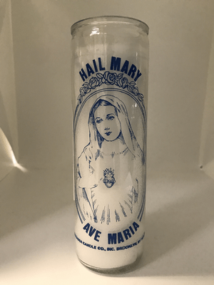 7 Day Candle- Hail Mary