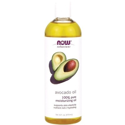 Now Solutions- Avocado Oil 100% Pure Moisturizing Oil 16 fl. oz.