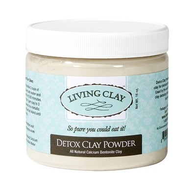 Living Clay Detox Clay Powder - 16oz