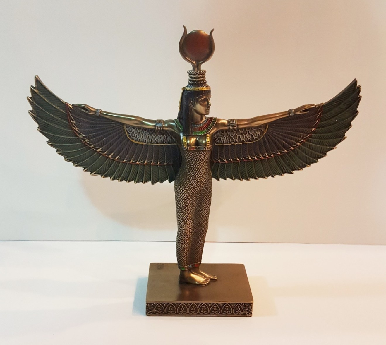 Kemetic Aset (Isis) Standing Statue