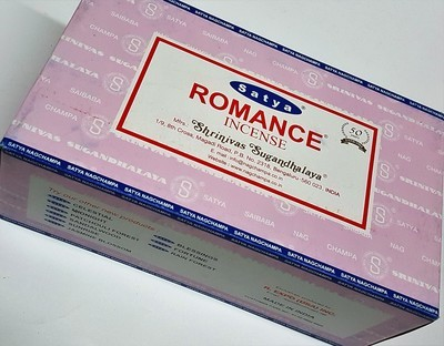 Satya Romance Incense Box