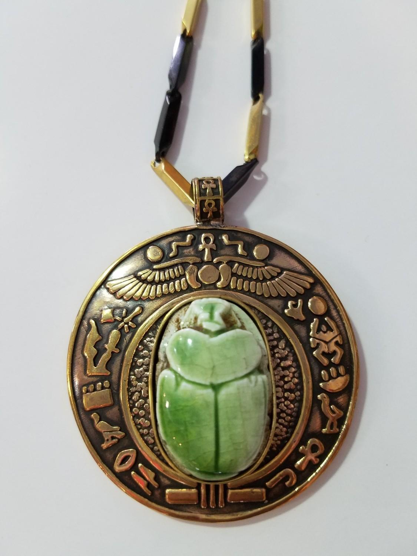 Khepra (Scarab) Necklace