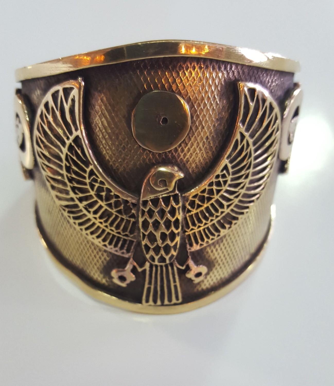 Heru bracelet with Eye of Heru