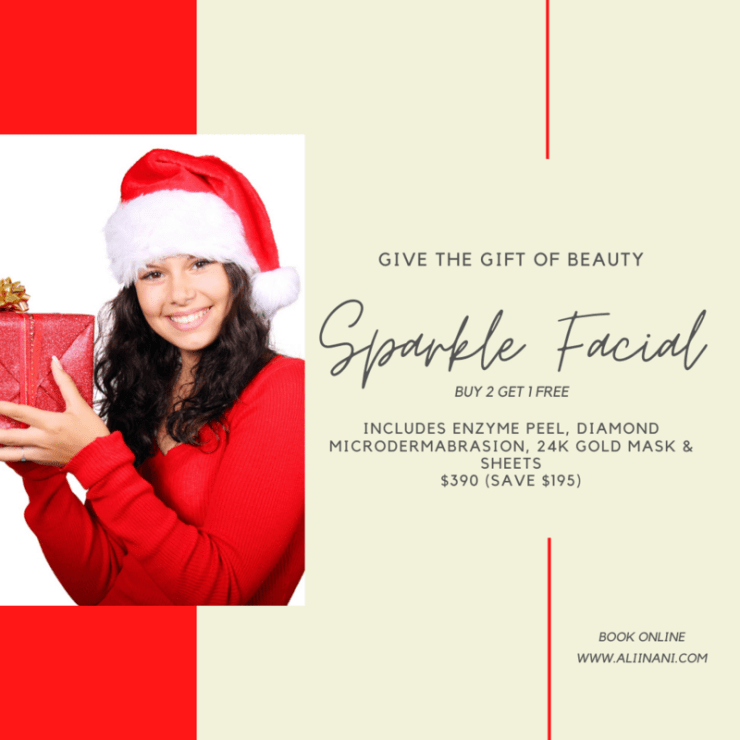 SPARKLE FACIAL BUY 2 GET 1 FREE