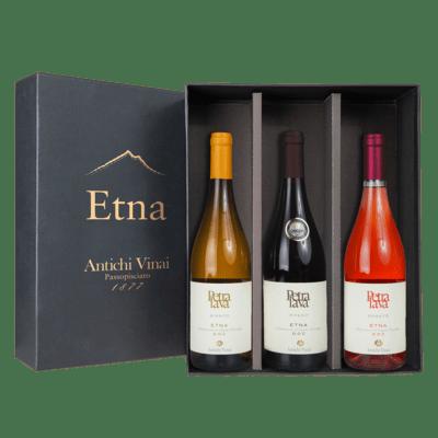 Confezione Regalo PRESTIGE 3 bottiglie Etna
