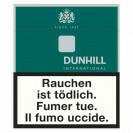DUNHILL INTERNAT. GREEN BOX T 7MG/N 0.7MG/KM 8MG