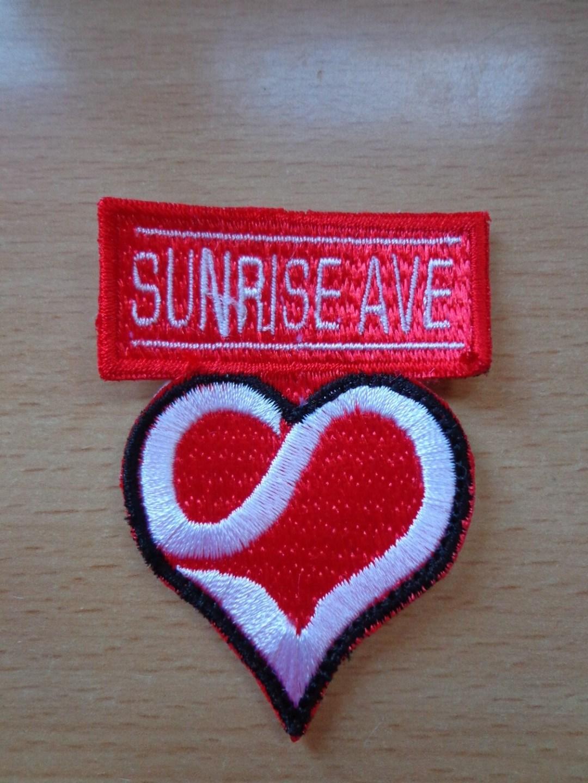 Patch brodé logo Sunrise Avenue
