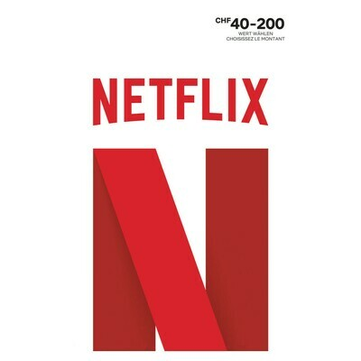NETFLIX 40 - 200 FR. VARIABEL ***GRATUIT / CARD