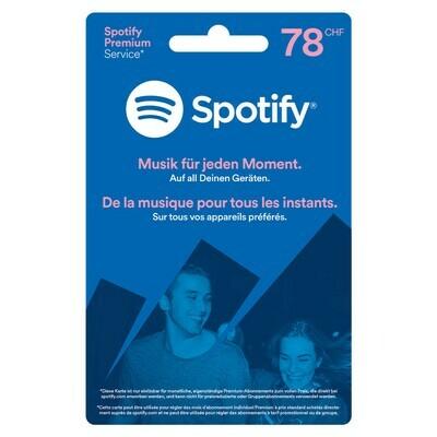 SPOTIFY 78 FR. ***GRATUIT / CARD