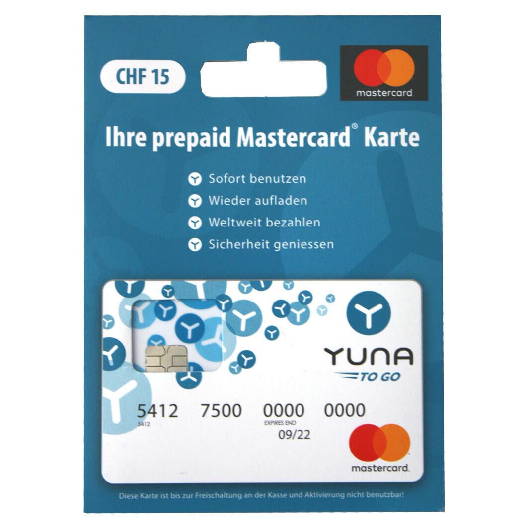 YUNA TO GO 15 FR. DE ***GRATUIT / CARD